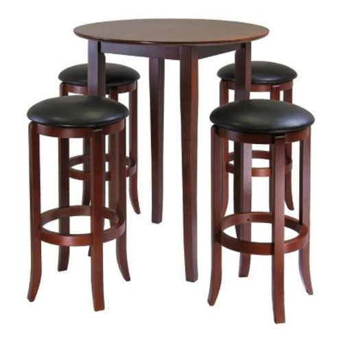 Winsome Fiona 5 Piece Pub Table Set