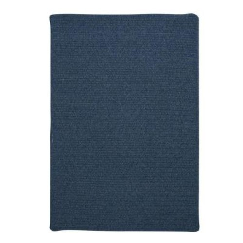Home Decorators Collection Wilshire Federal Blue 9 ft. x 12 ft. Braided Area Rug