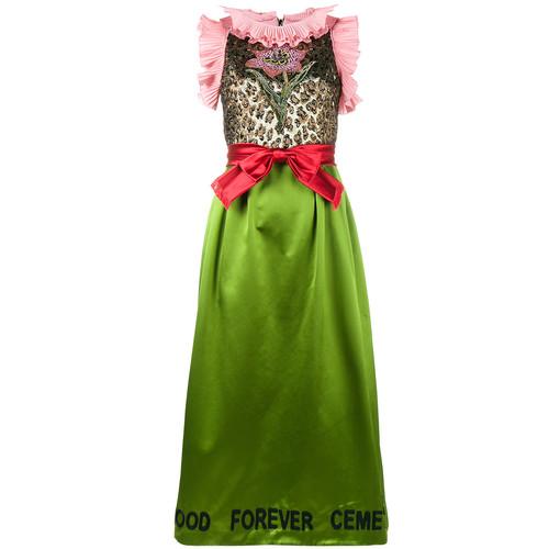 GUCCI Flower Bow Dress