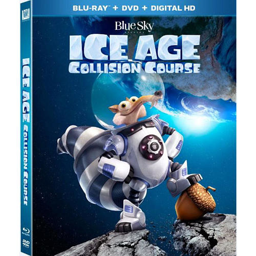 Ice Age 5: Collision Course Blu-Ray Combo Pack (Blu-Ray/DVD/Digital HD)