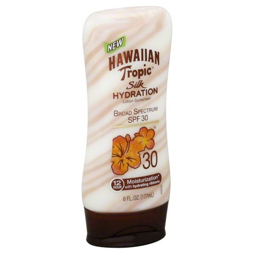 Hawaiian Tropic Lotion Sunscreen, Silk Hydration, SPF 30, 6 fl oz (177 ml)