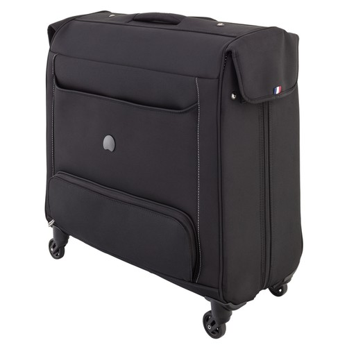 Delsey Chatillon Black Spinner Rolling Garment Bag