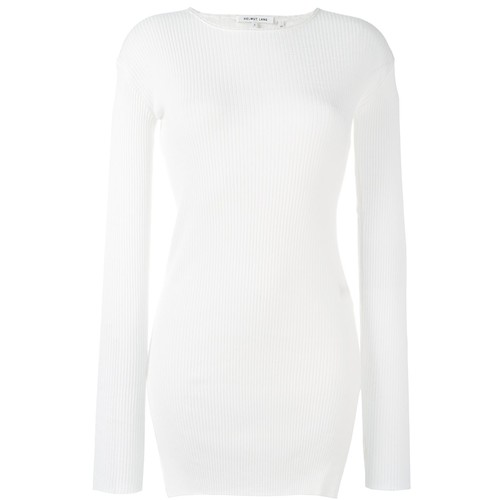 HELMUT LANG Ribbed Side Slit Jumper