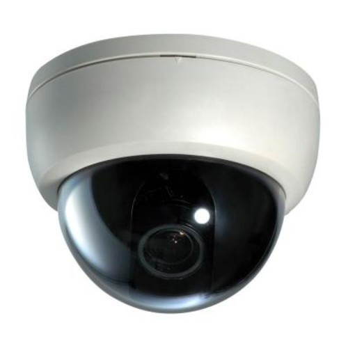 SeqCam Wired Plastic Dome Indoor/Outdoor Color Security Camera