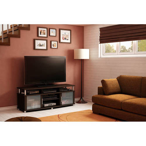 South Shore City Life TV Stand, Chocolate Finish