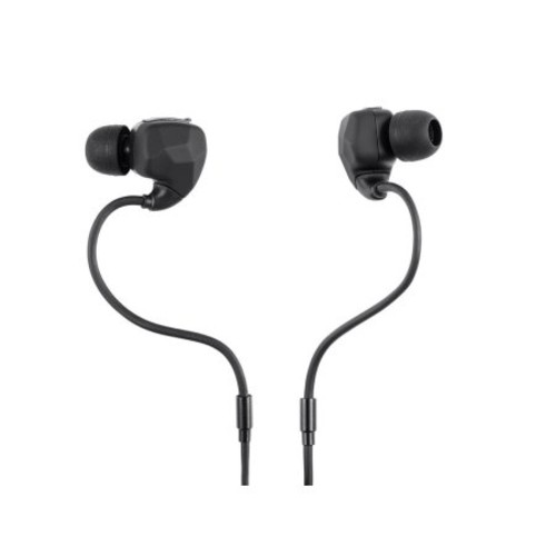 Monoprice Sweatproof Bluetooth Wireless Earbuds Headphones with Memory Wire & Mic