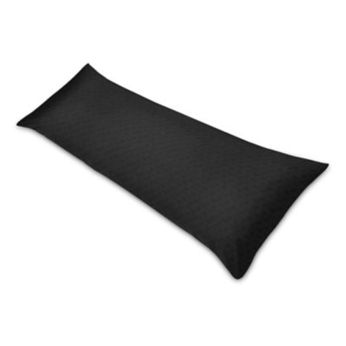 Sweet Jojo Designs Minky Dot Body Pillowcase in Black