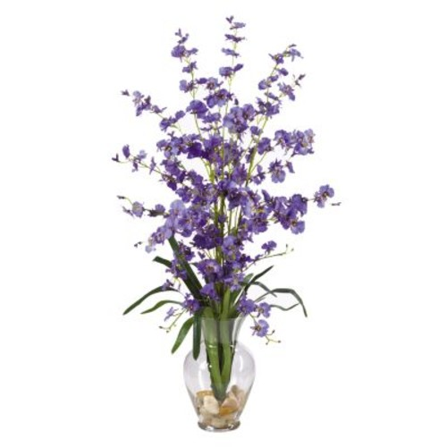 Nearly Natural 31 in. Dancing Lady Silk Flower Arrangement