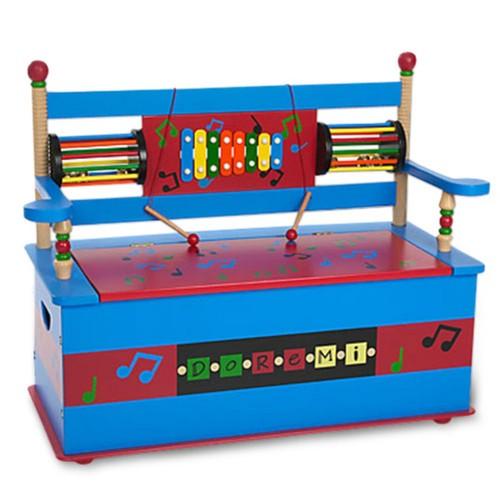 Wildkin Musical Bench Seat w/ Storage