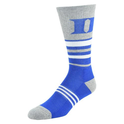 NCAA Womens Walk The Line Crew Socks - Duke Blue Devils