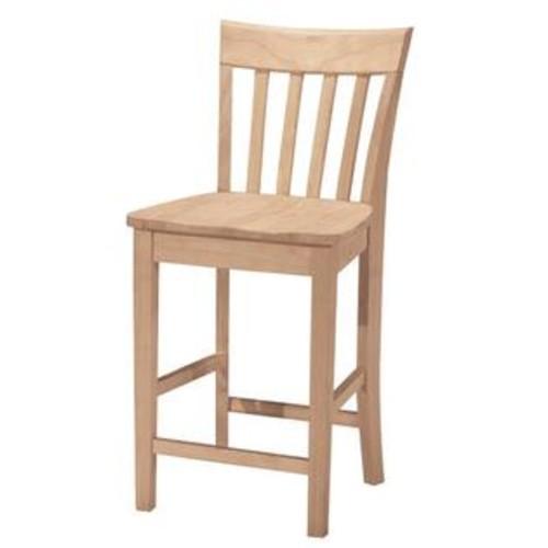 International Concepts Slatback stool 24