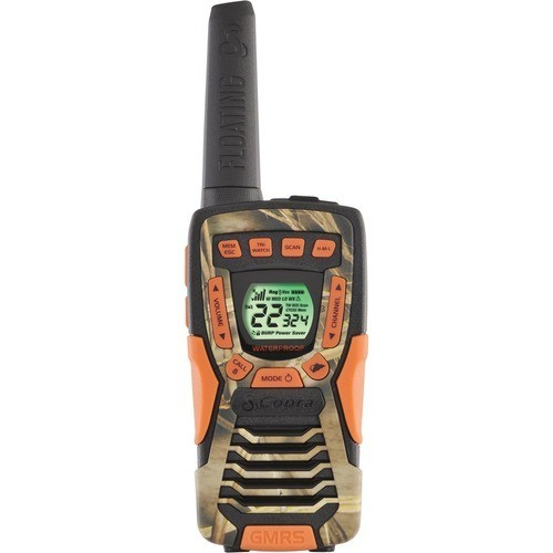Cobra - 37-Mile, 22-Channel FRS/GMRS 2-Way Radios (Pair) - RealTree Camo