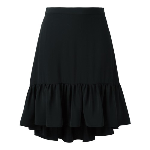 SAINT LAURENT Longer Tail Ruffled Skirt