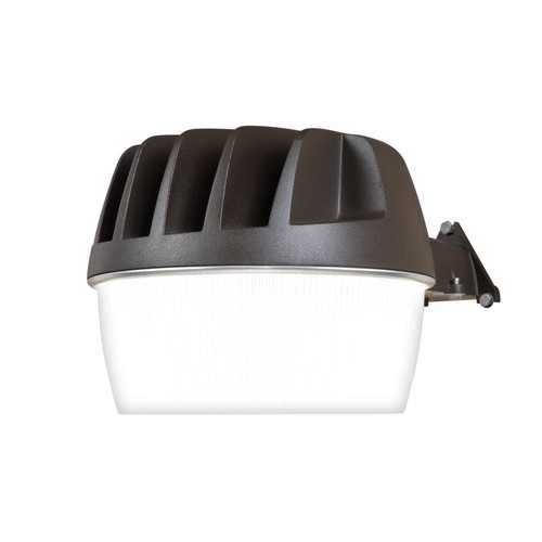 Halo Bronze Outdoor Integrated LED Security Wall and Area Light with Built-in Dusk to Dawn Photocell Sensor, 3300 Lumens