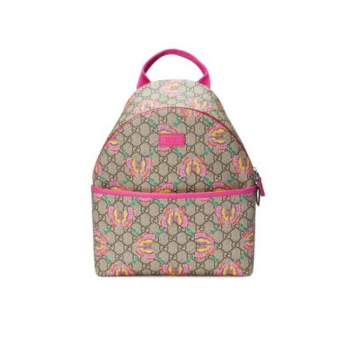 Girl's Butterfly Logo Canvas Backpack