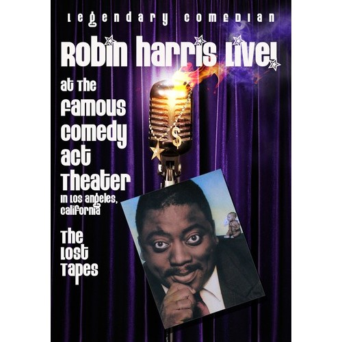Robin Harris: Live at the Famous Comedy Act Theater - The Lost Tapes [DVD] [English] [2009]