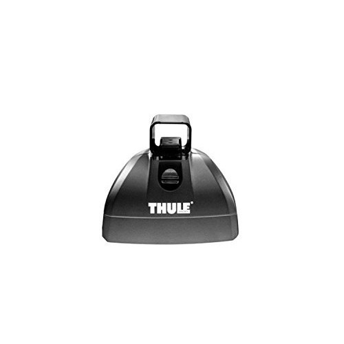 Thule 4602 Podium Foot Half Pack For Vehicles w/Integrated Fixed Point Or Flush Mount Rail Attachment Locations Podium Foot Half Pack [One Color, One Size]
