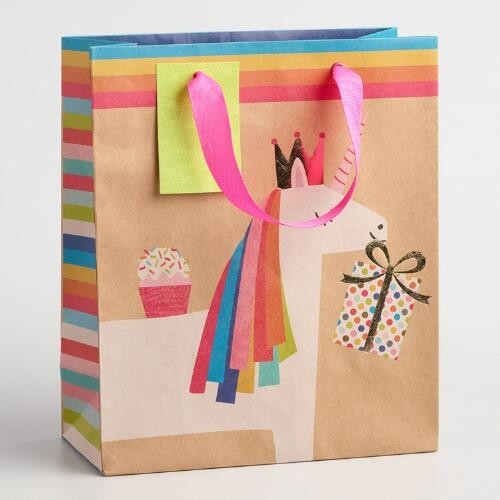 Medium Unicorn Gift Bags Set of 2
