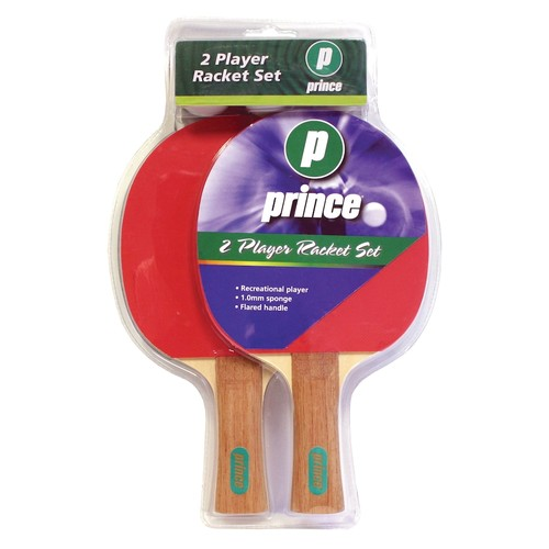 Prince Deluxe Two-Player Table Tennis Racket Paddle & Ball Set