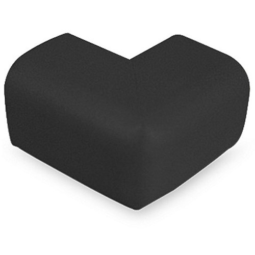 KidKusion Soft Corner Cushions (Package of 4) in Black