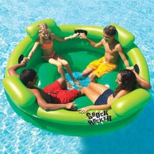 Swimline Inflatable Shock Rocker Pool Float
