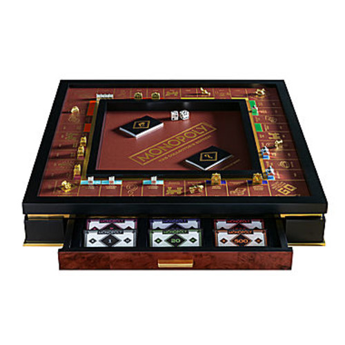 Winning Solutions Franklin Mint Collector'S Edition Monopoly
