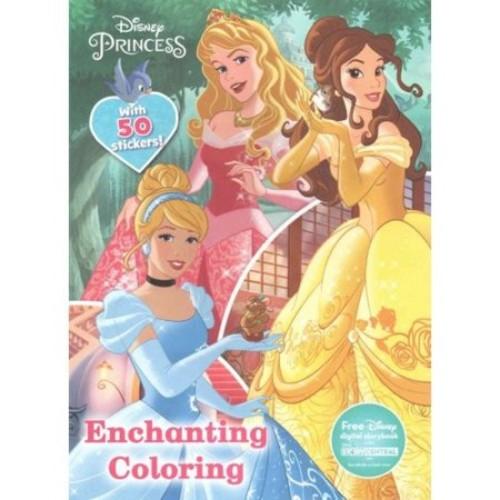 Disney Princess Enchanting Coloring Book