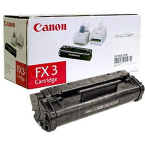 Canon 1557A002BA (FX-3) OEM Black Laser Toner Cartridge