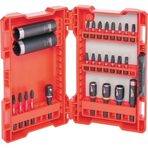 Milwaukee Shockwave Impact Drive and Fasten Set  26-Pc., Model# 48-32-4408