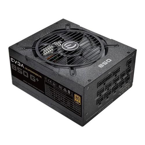 EVGA SuperNOVA 850 G1+, 80 Plus Gold 850W, Fully Modular, FDB Fan, 10 Year Warranty, Includes Power ON Self Tester, Power Supply 120-GP-0850-X1