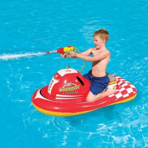 Splash & Play Splash and Play Wave Attack 55-inch Inflatable Ride-on Pool Toy