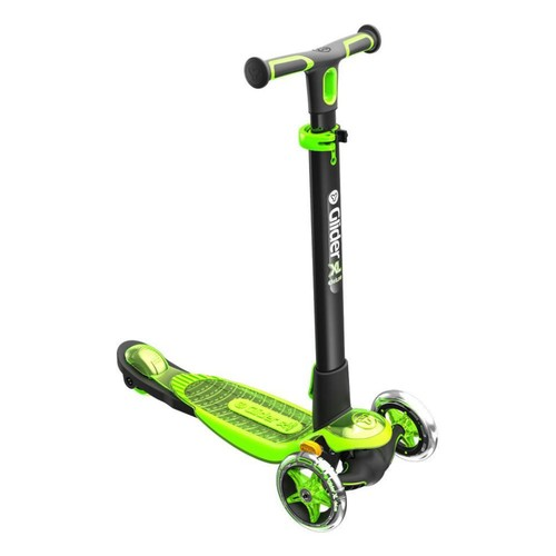Yvolution Y Glider XL Deluxe 3 Wheel Scooter - Green