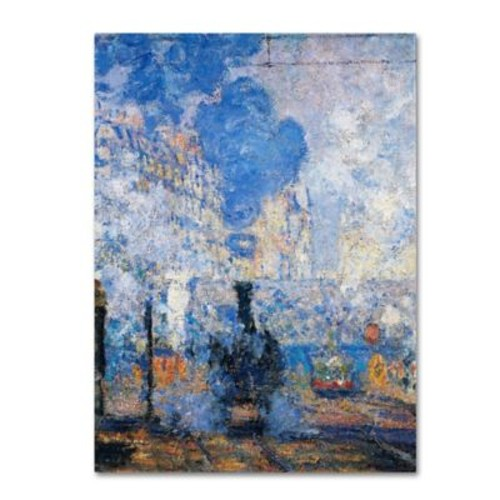 Trademark Fine Art 'Saint Lazare Station' 35