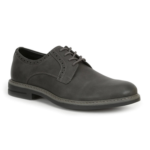 IZOD Chad Mens Round Toe Lace Up Oxfords Shoes [Medium]
