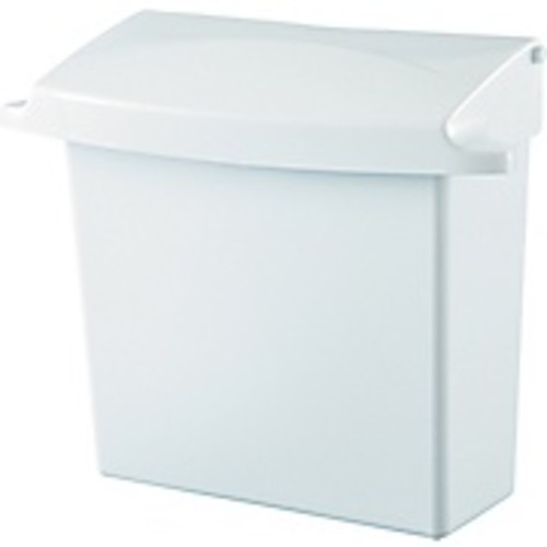 Rubbermaid 614000 Sanitary Napkin Receptacle With Rigid Liner, White