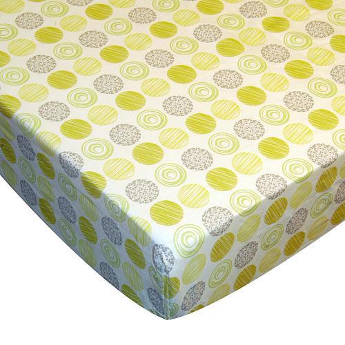 Laugh, Giggle & Smile Zen Garden Crib Sheet