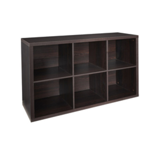 ClosetMaid 6 Black Walnut Laminate Storage Cubes