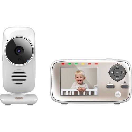 Motorola - Video Baby Monitor with 2.8