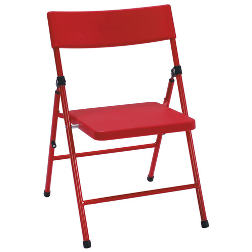 Cosco Home and Office Products 4-Pack Red Kid's Pinch-free Folding Chair