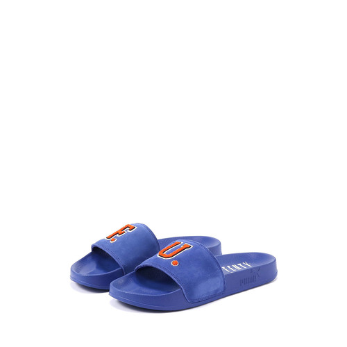 Leadcat Fenty Suede Pool Slide Sandal, Blue