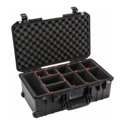 Pelican 1535 Air Protector Case w/TrekPak Divider System,Black