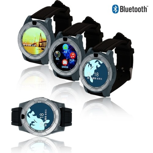 Indigi GSM UNLOCKED Bluetooth Sync SmartWatch [Wrist Camera + Text & Call Reminder + Alarms]