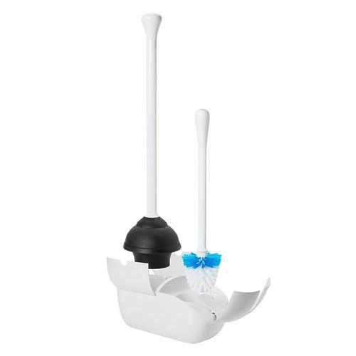 OXO Toilet Brush & Plunger Set