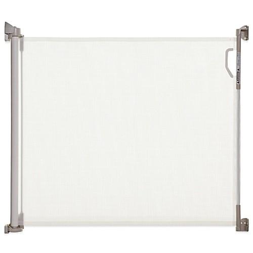 Dreambaby Indoor/Outdoor Retractable Gate in White