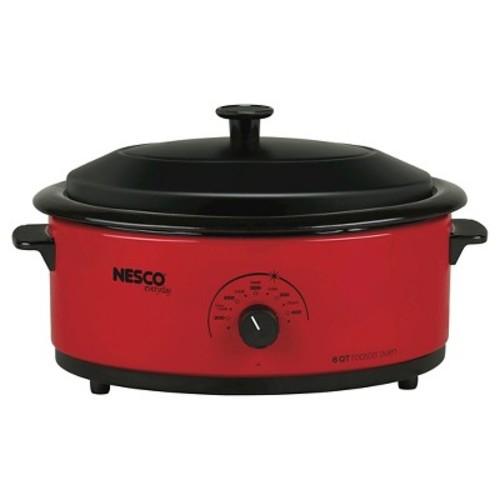Nesco 6 Qt. Roaster Oven - Red
