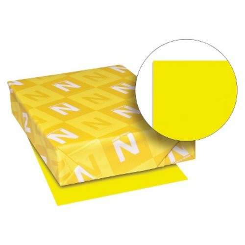 Neenah Paper Astrobrights Colored Paper, 24 lb - Yellow (500 Sheets Per Ream)
