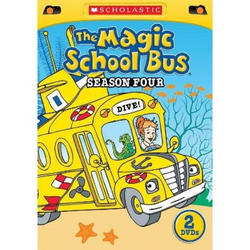 The Magic School Bus: Season 4 [2 Discs] [DVD]
