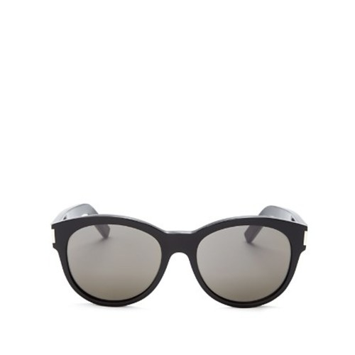 SAINT LAURENT Bold Cat Eye Sunglasses, 54Mm
