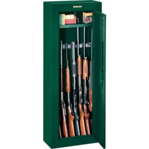 Stack-On 8-Gun Security Cabinet [MODEL : GREEN]