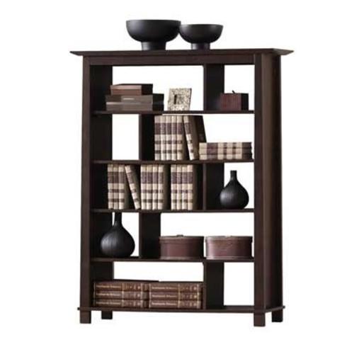 Baxton Studio Havana Tall Wood Modern Bookcase, Brown [High]